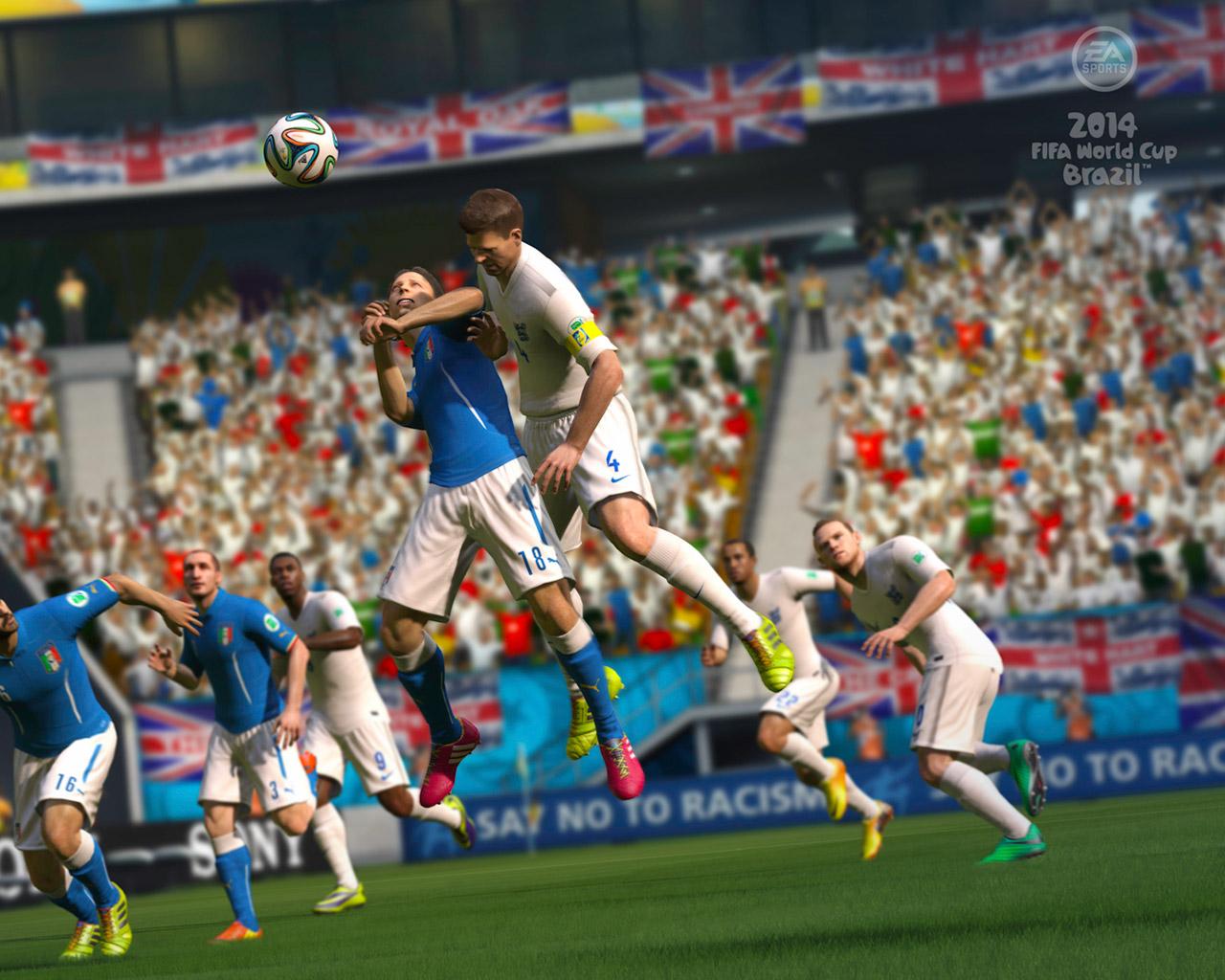Free 2014 FIFA World Cup Brazil Wallpaper in 1280x1024