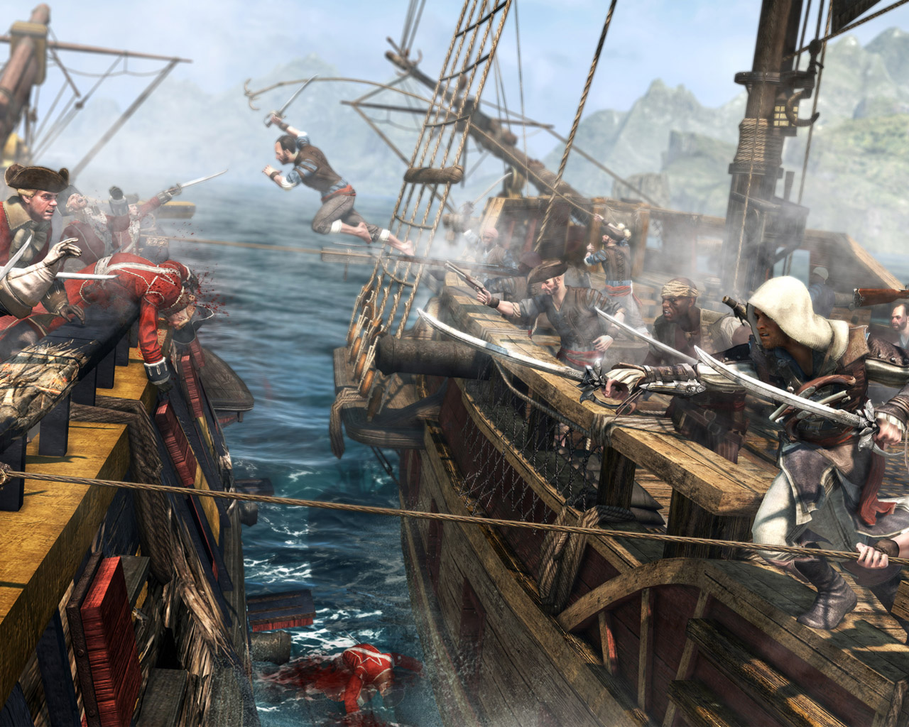 Free Assassin's Creed IV: Black Flag Wallpaper in 1280x1024