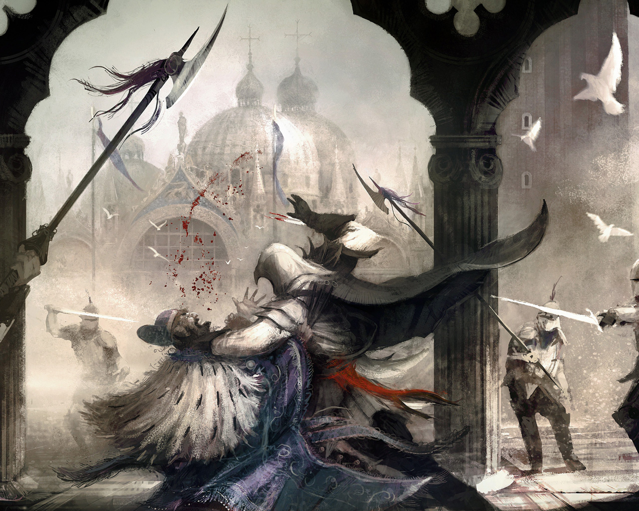 Assassin's Creed II Wallpaper in 1280x1024