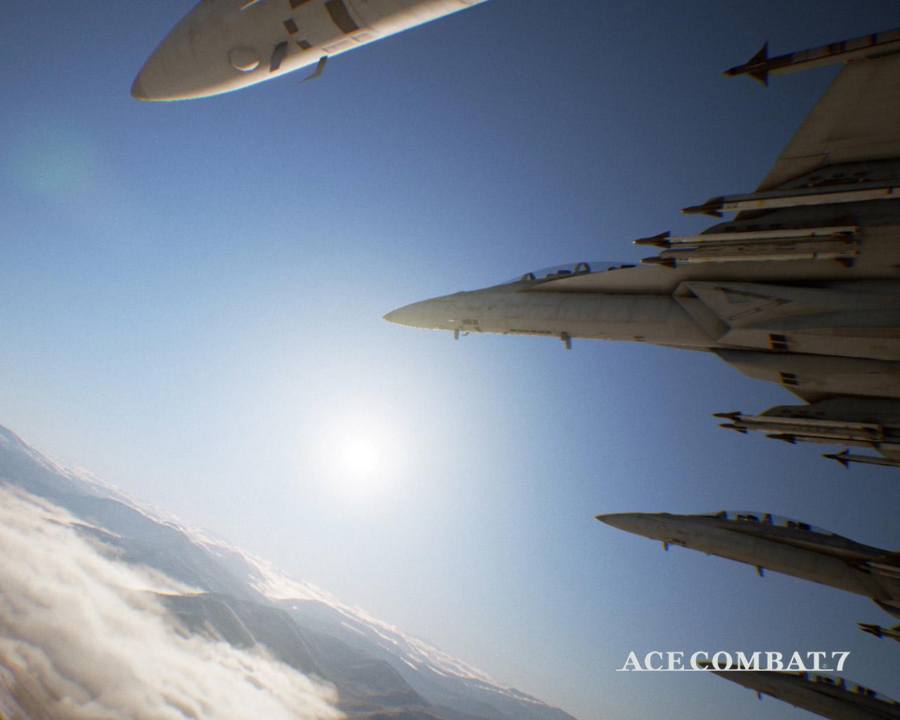 Ace Combat 7 Wallpaper in 1280x1024