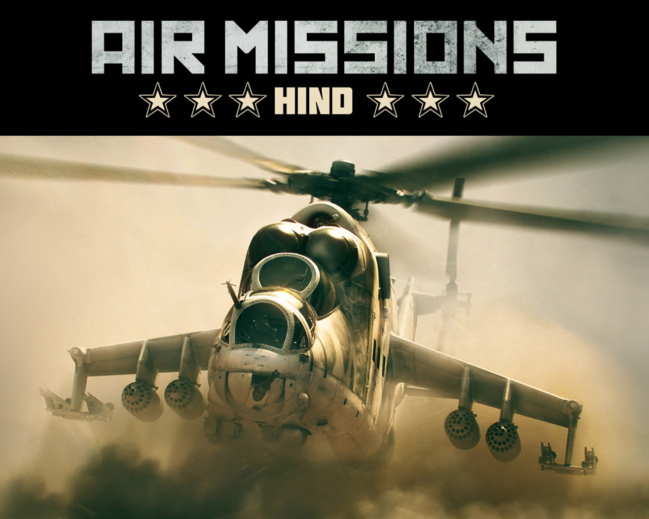 Free Air Missions: HIND Wallpaper in 1280x1024