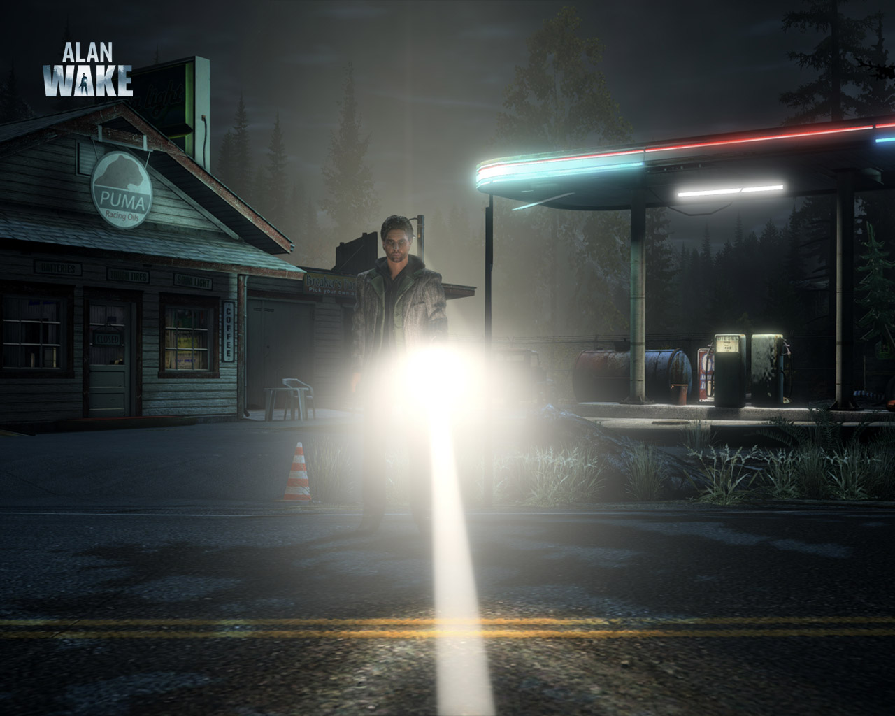 Free Alan Wake Wallpaper in 1280x1024