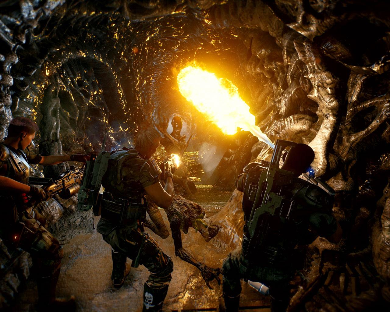 Free Aliens: Fireteam Elite Wallpaper in 1280x1024