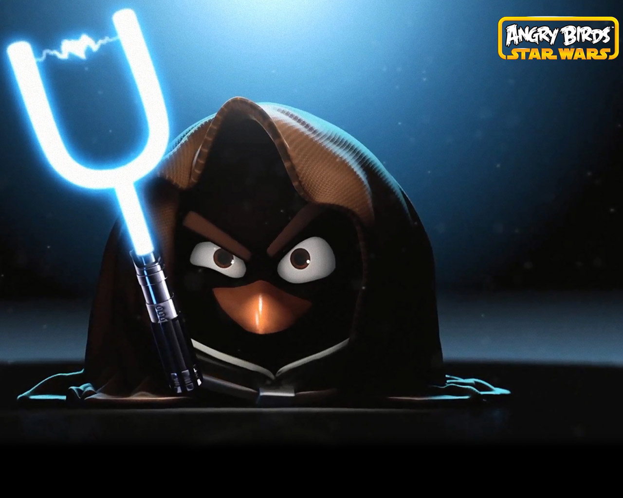 Free Angry Birds: Star Wars Wallpaper in 1280x1024