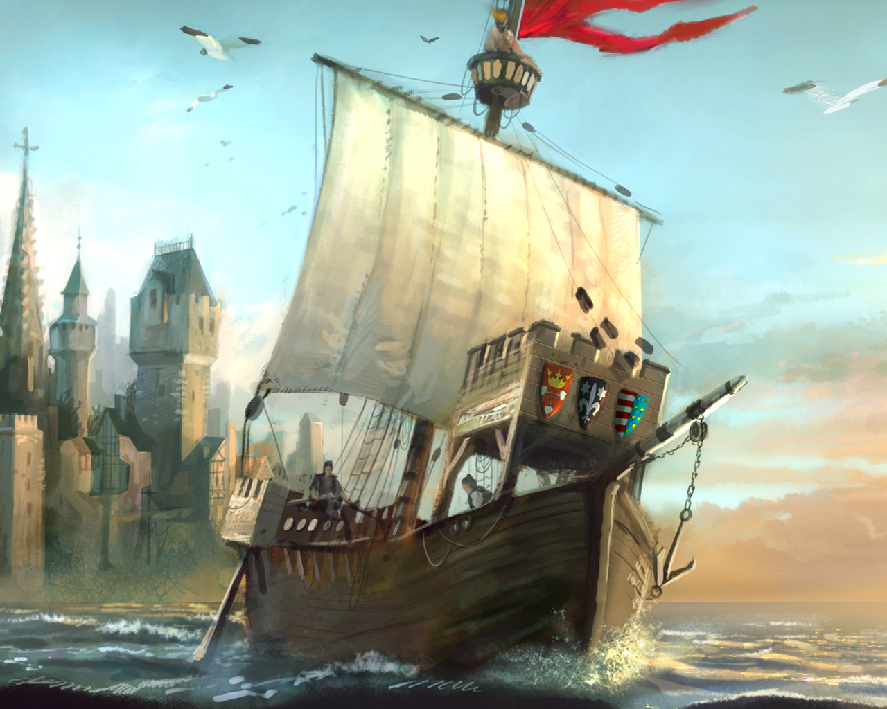 Free Anno 1404 Wallpaper in 1280x1024
