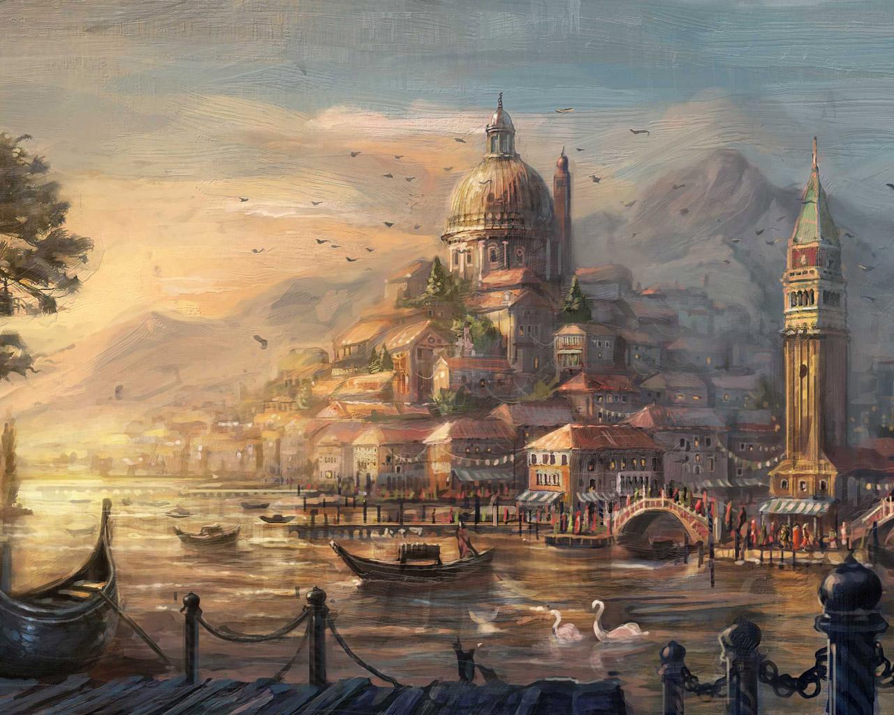 Free Anno 1404 Wallpaper in 1280x1024
