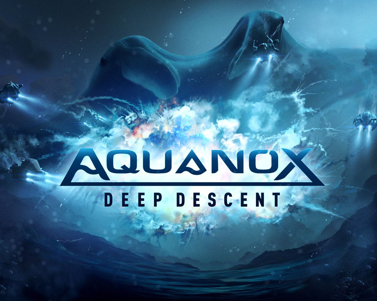Free Aquanox Deep Descent Wallpaper in 1280x1024
