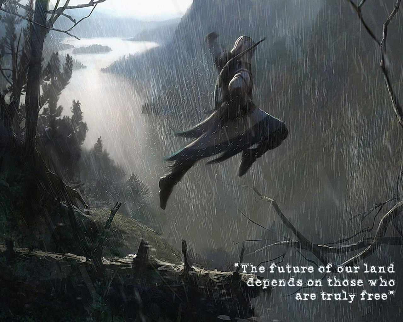 Free Assassin's Creed III Wallpaper in 1280x1024