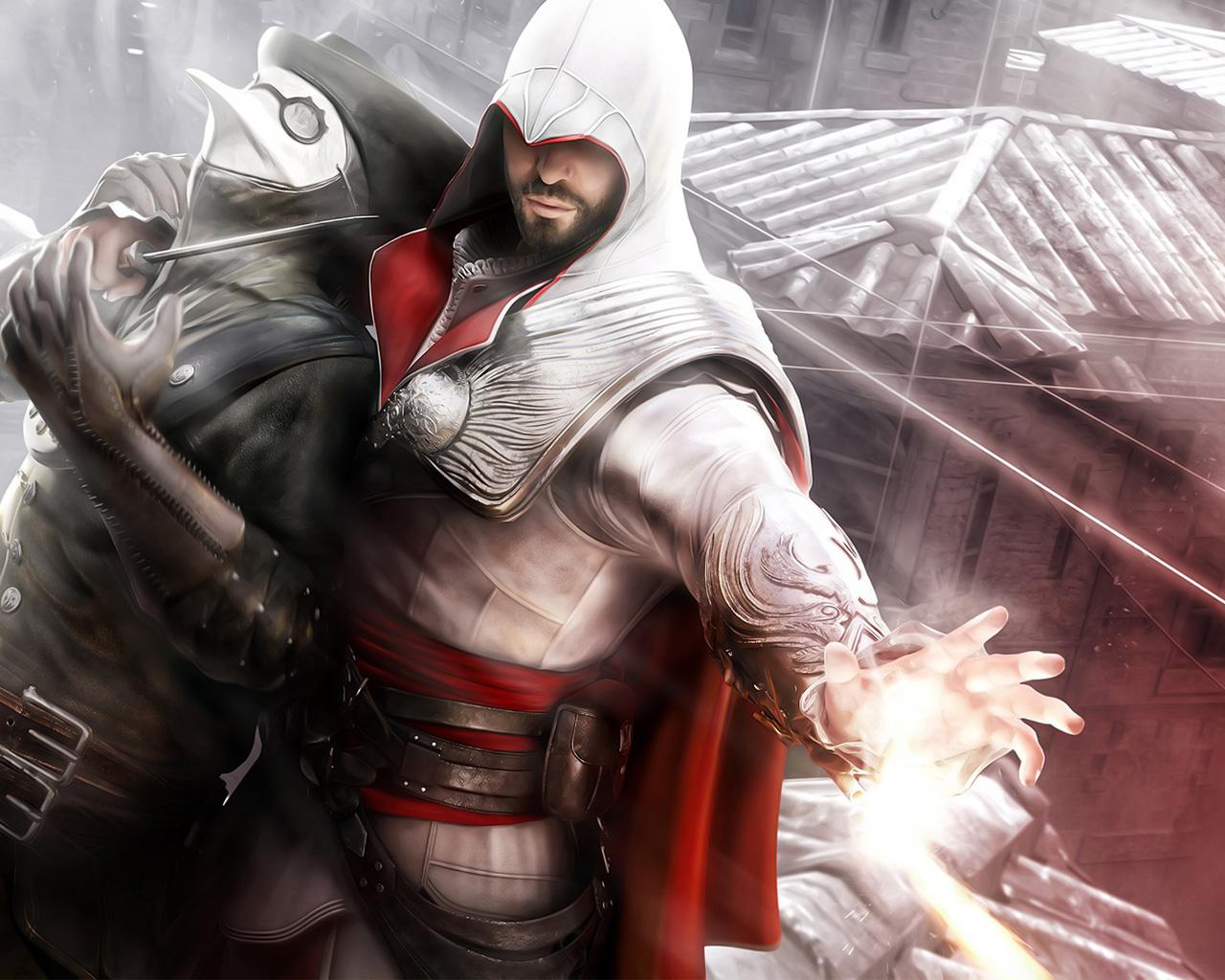 Assassin's Creed: Brotherhood Wallpaper in 1280x1024