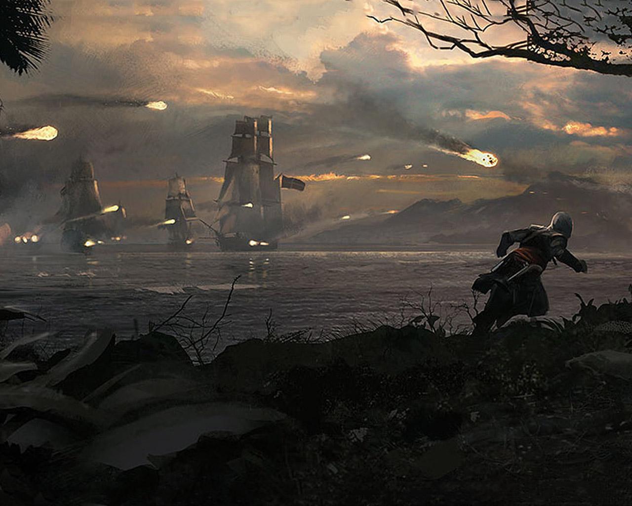 Assassin's Creed IV: Black Flag Wallpaper in 1280x1024