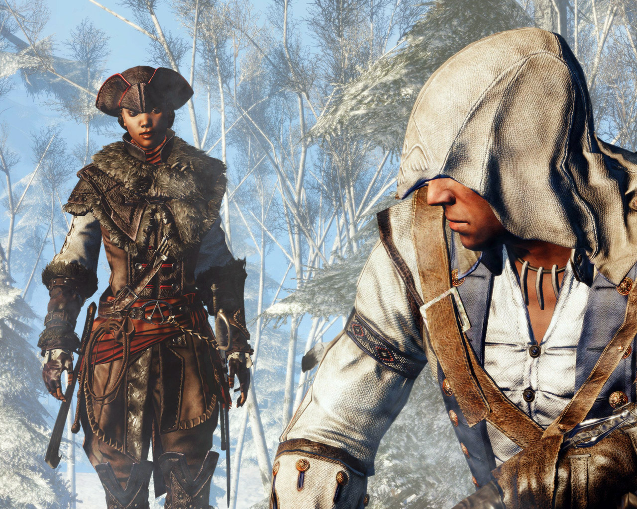 Assassin's Creed III: Liberation Wallpaper in 1280x1024
