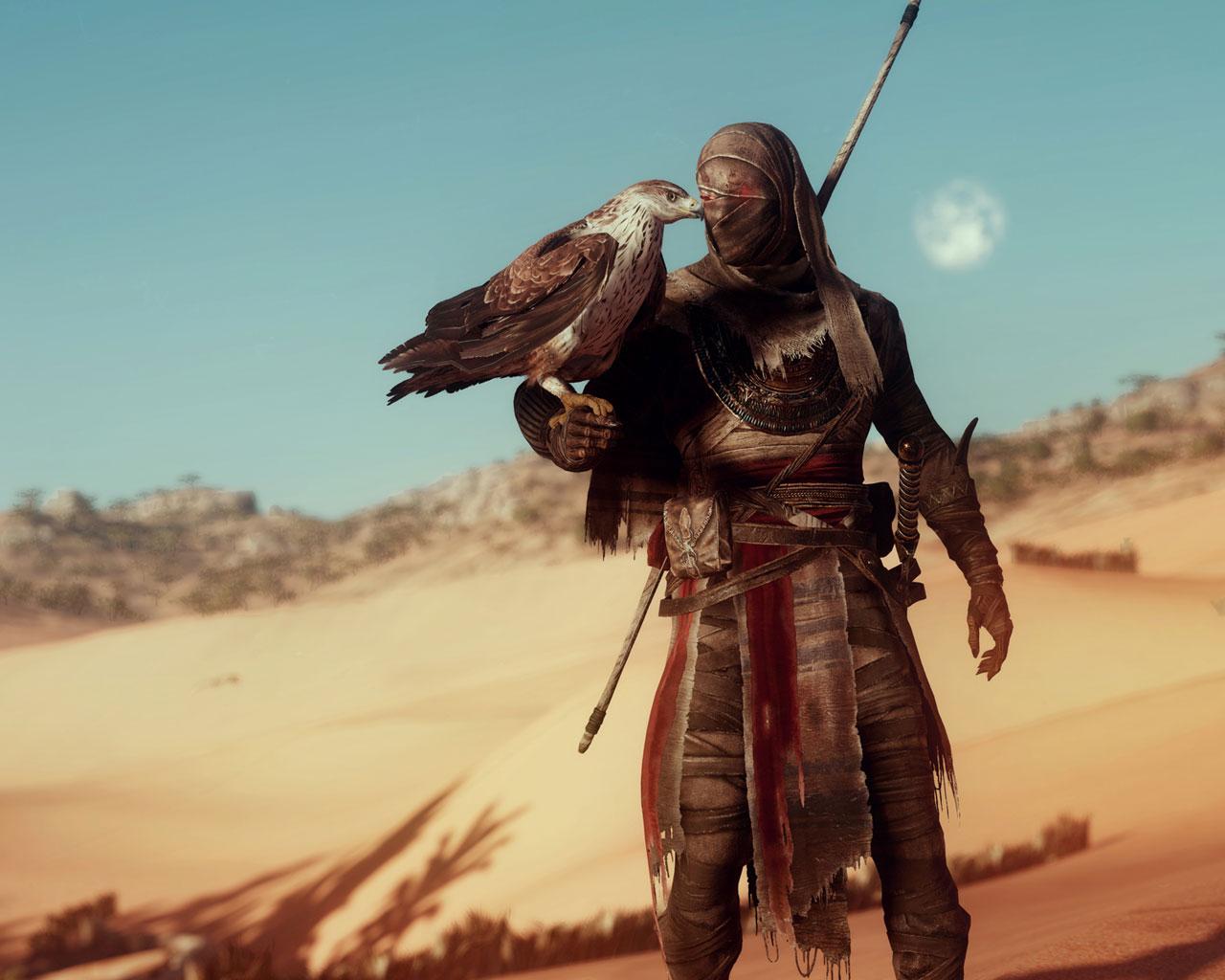 Free Assassin's Creed Origins Wallpaper in 1280x1024