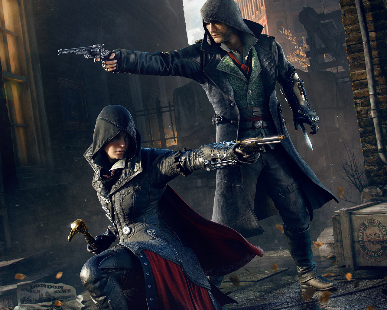 Free Assassin's Creed: Syndicate Wallpaper in 1280x1024