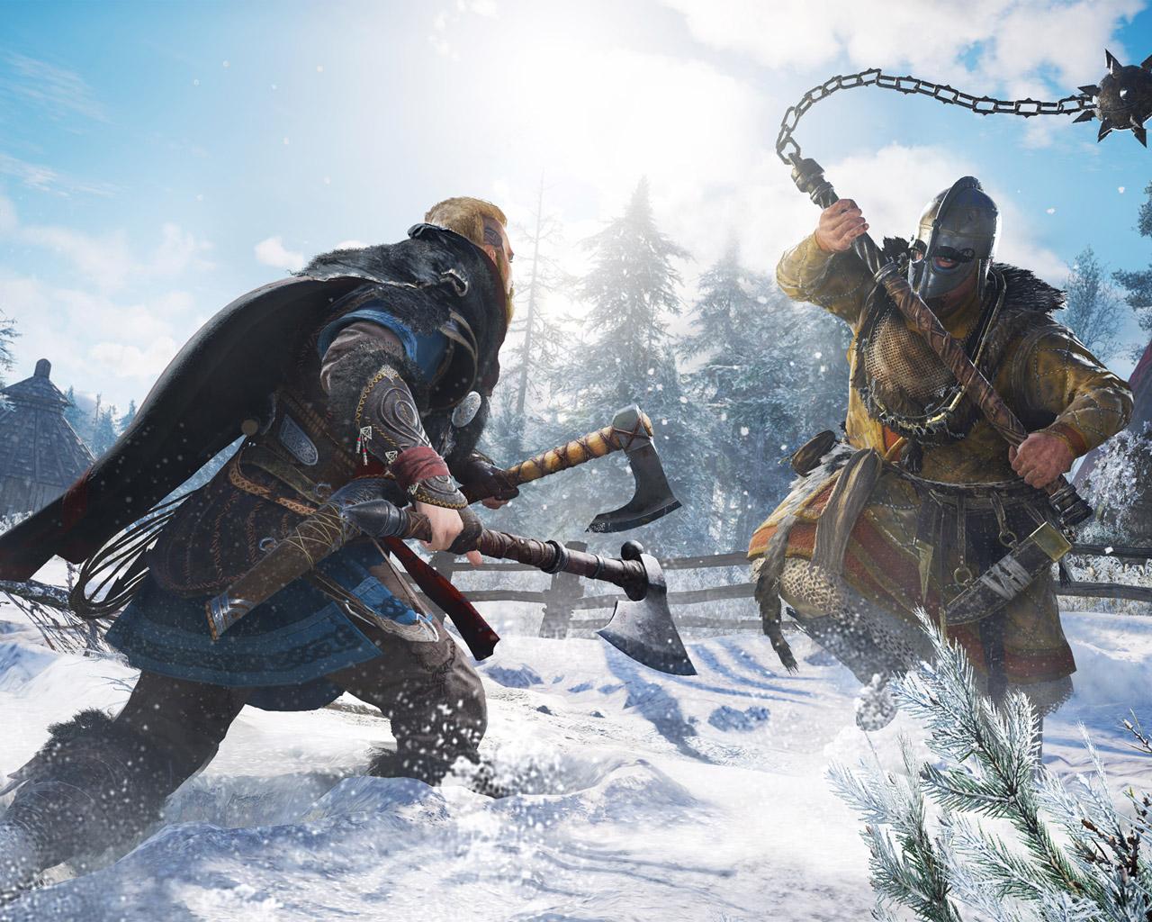 Assassin's Creed Valhalla Wallpaper in 1280x1024