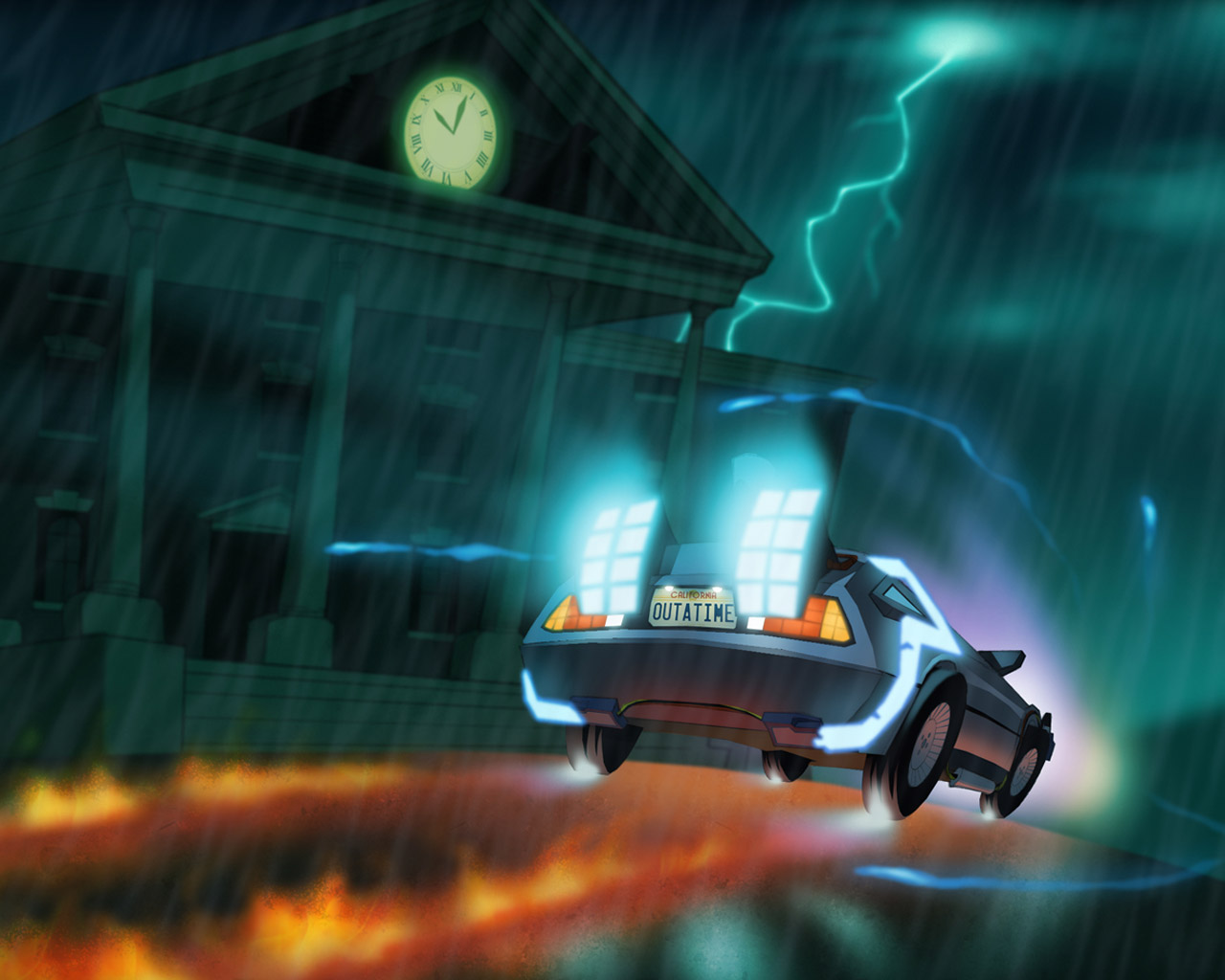Free Back to the Future: The Game Wallpaper in 1280x1024