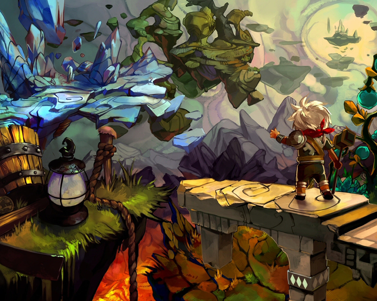 Bastion Wallpaper in 1280x1024