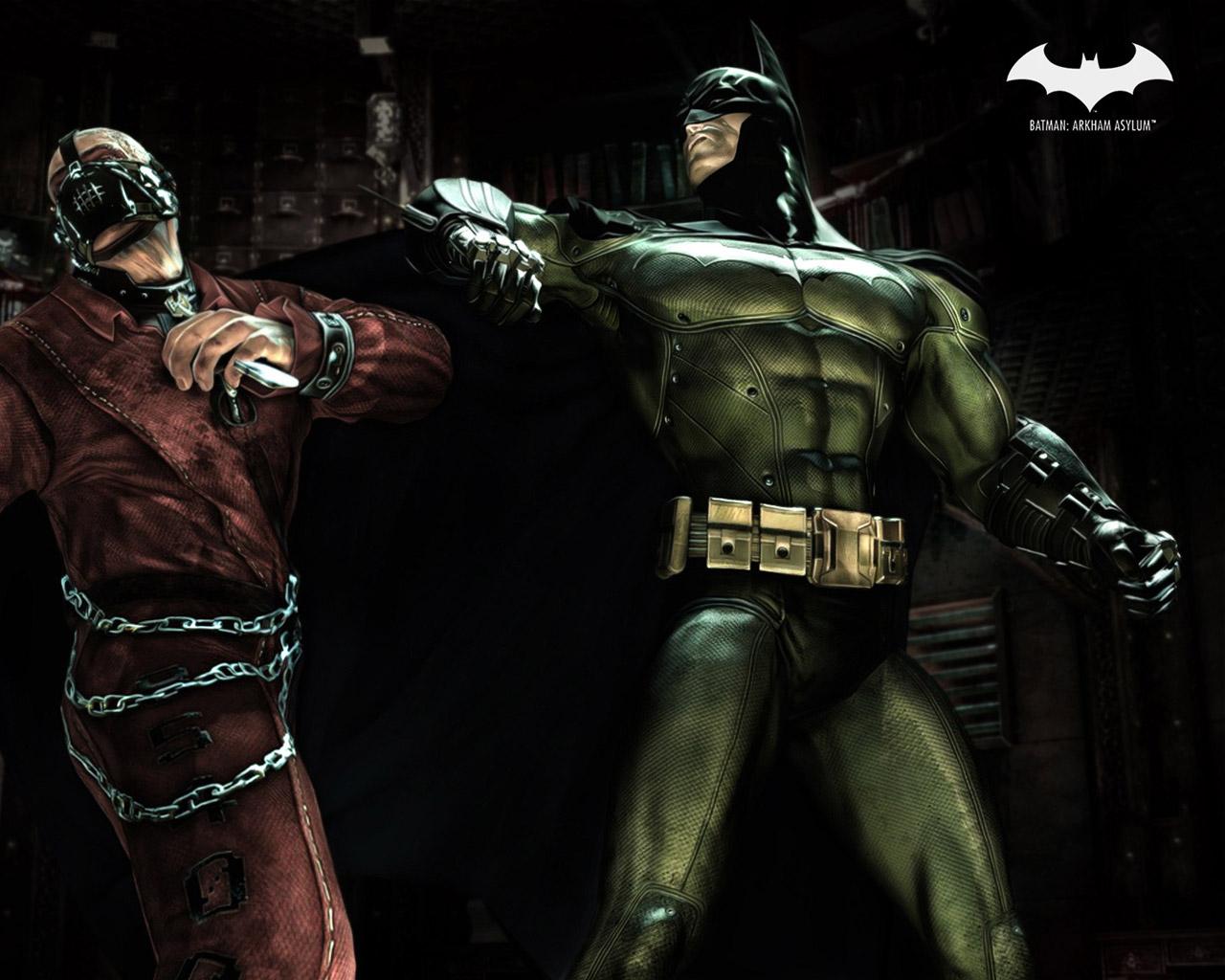 Batman: Arkham Asylum Wallpaper in 1280x1024