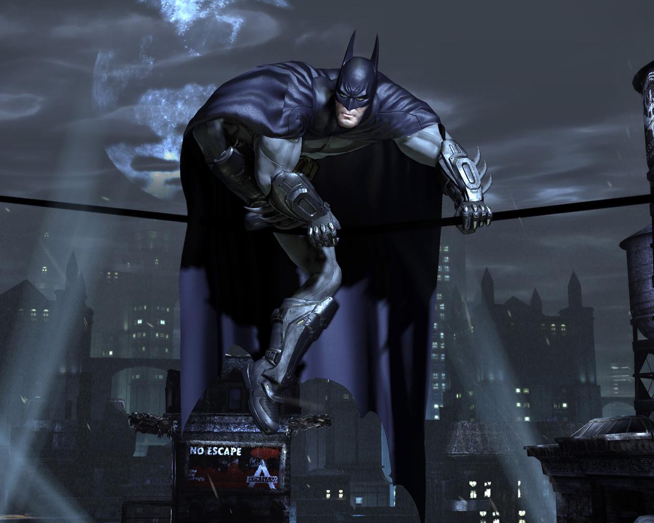 Free Batman: Arkham City Wallpaper in 1280x1024