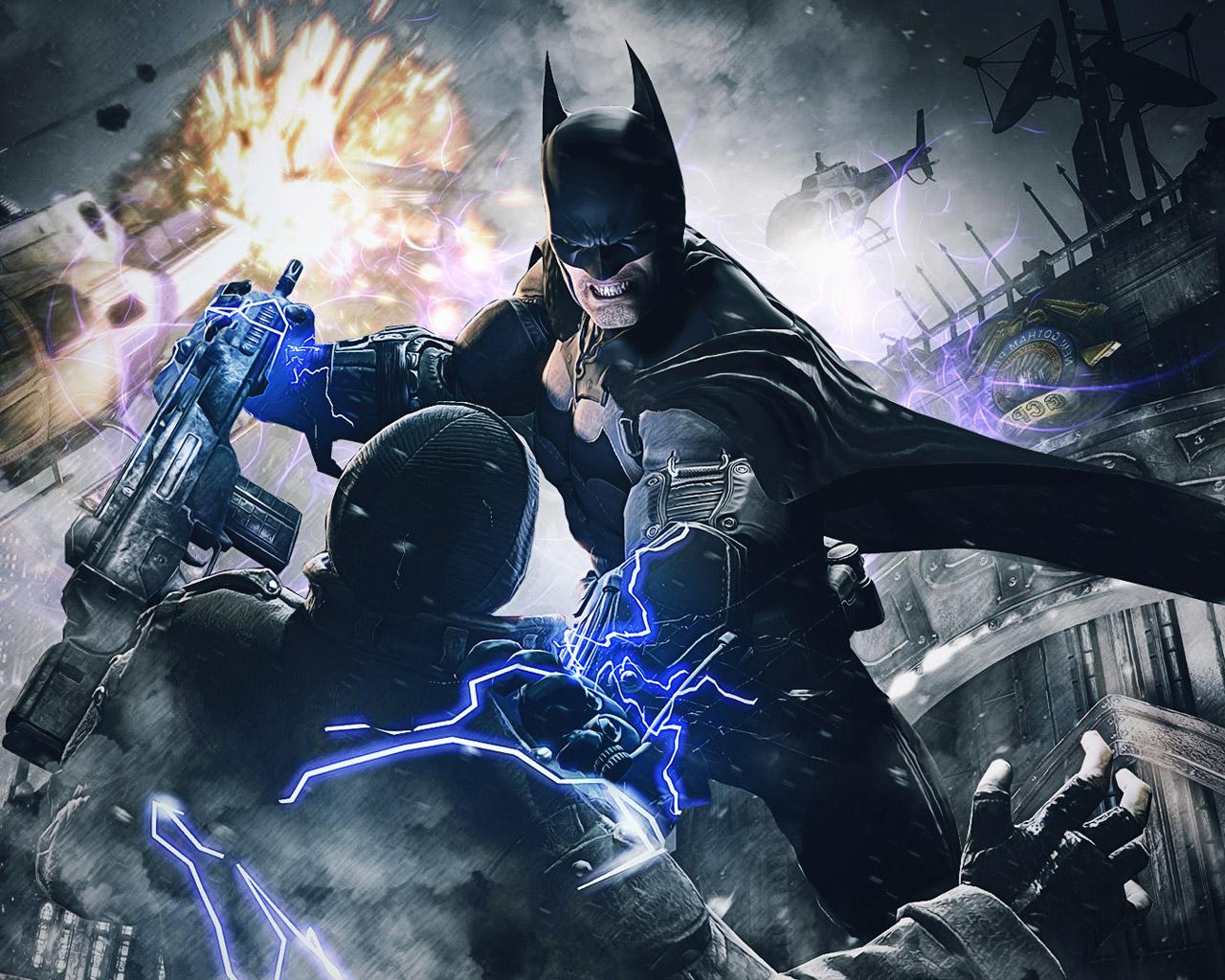 Batman: Arkham Origins Wallpaper in 1280x1024