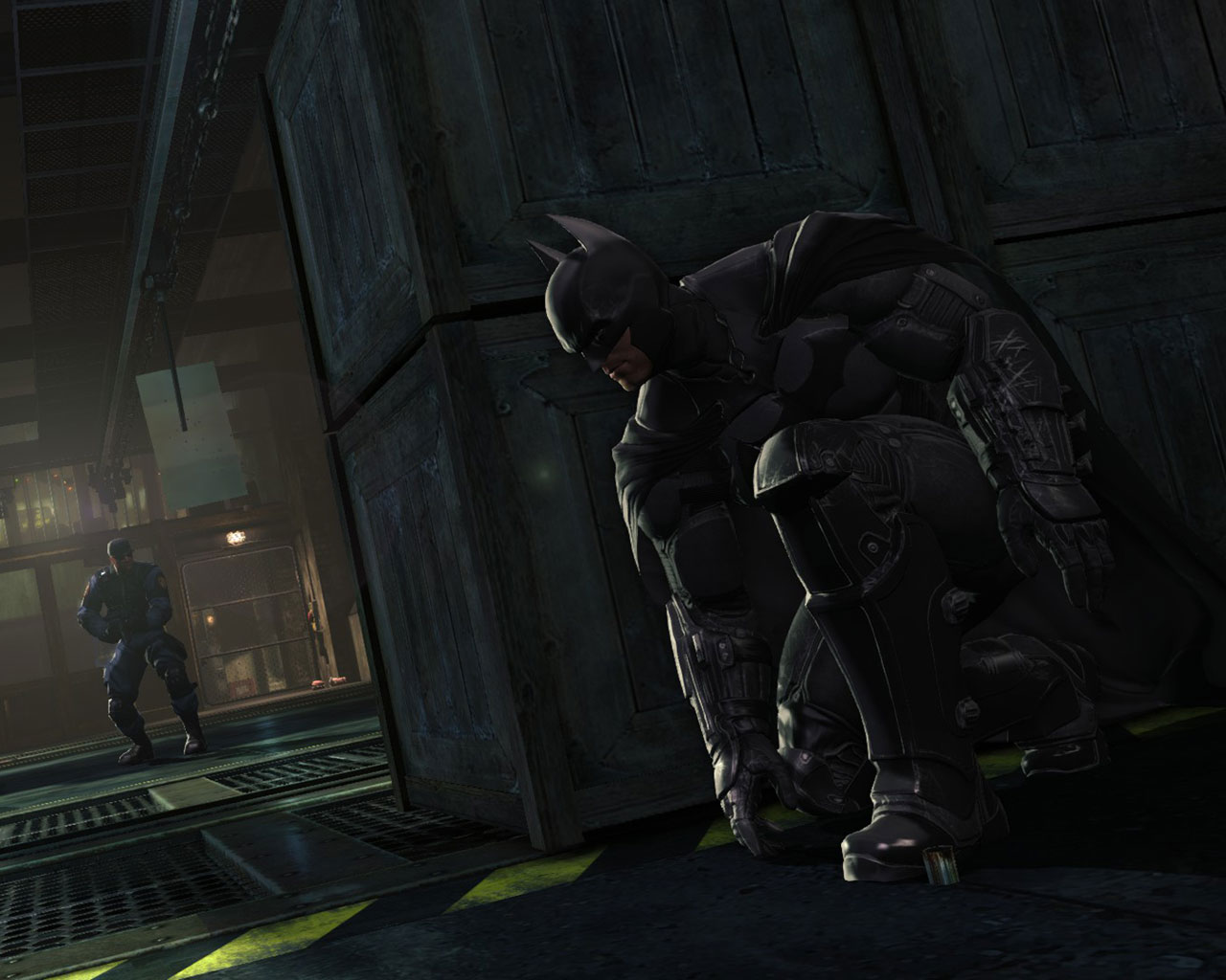 Free Batman: Arkham Origins Wallpaper in 1280x1024