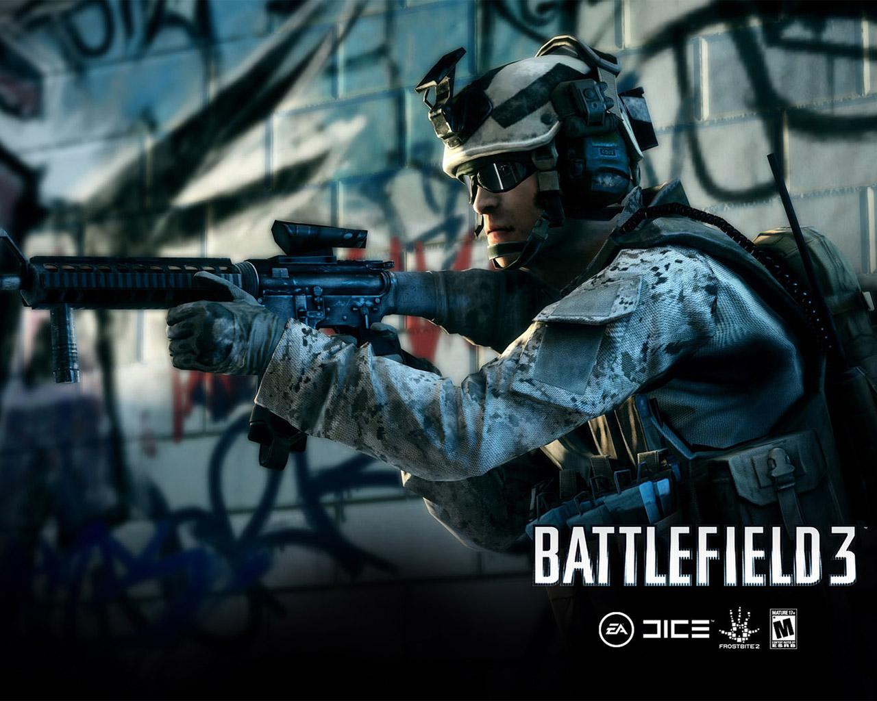 Free Battlefield 3 Wallpaper in 1280x1024