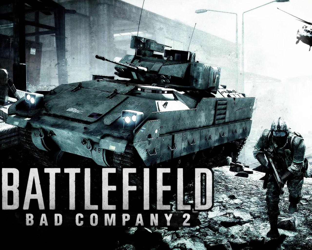 Battlefield: Bad Company 2 Wallpaper in 1280x1024