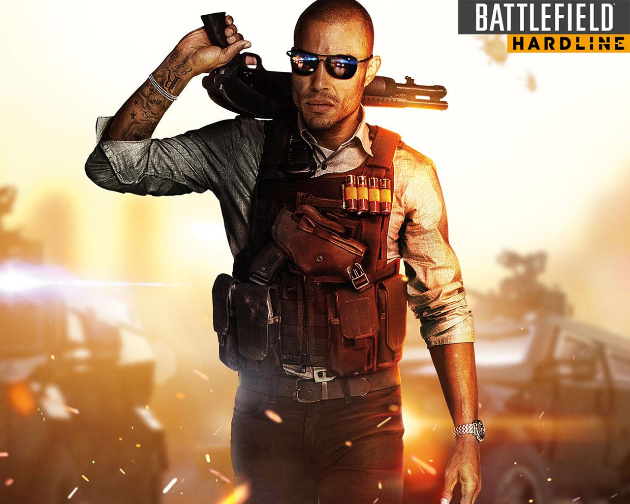 Free Battlefield: Hardline Wallpaper in 1280x1024