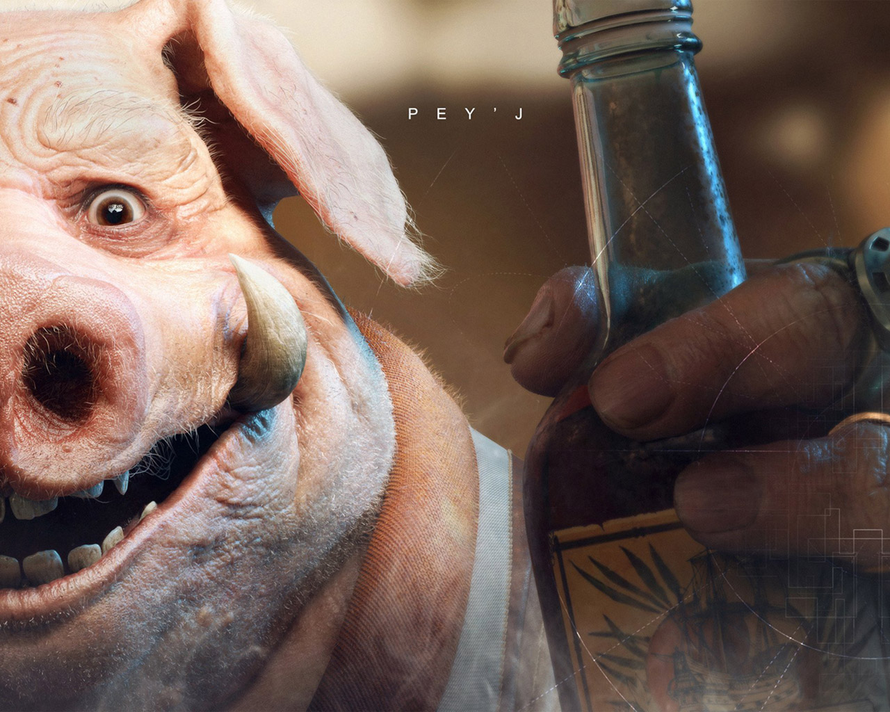 Free Beyond Good and Evil 2 Wallpaper in 1280x1024