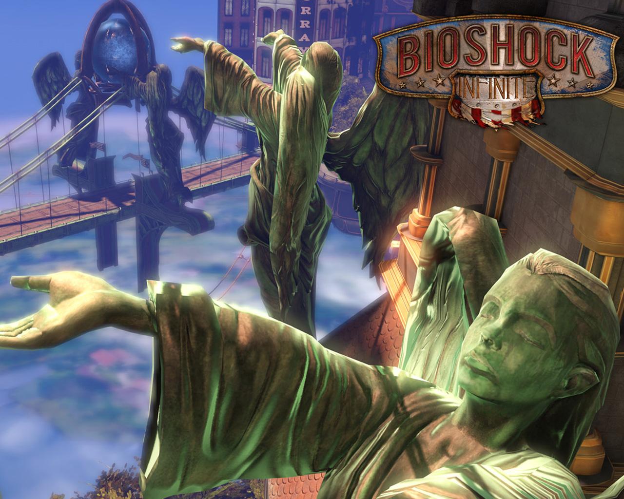 Free Bioshock Infinite Wallpaper in 1280x1024
