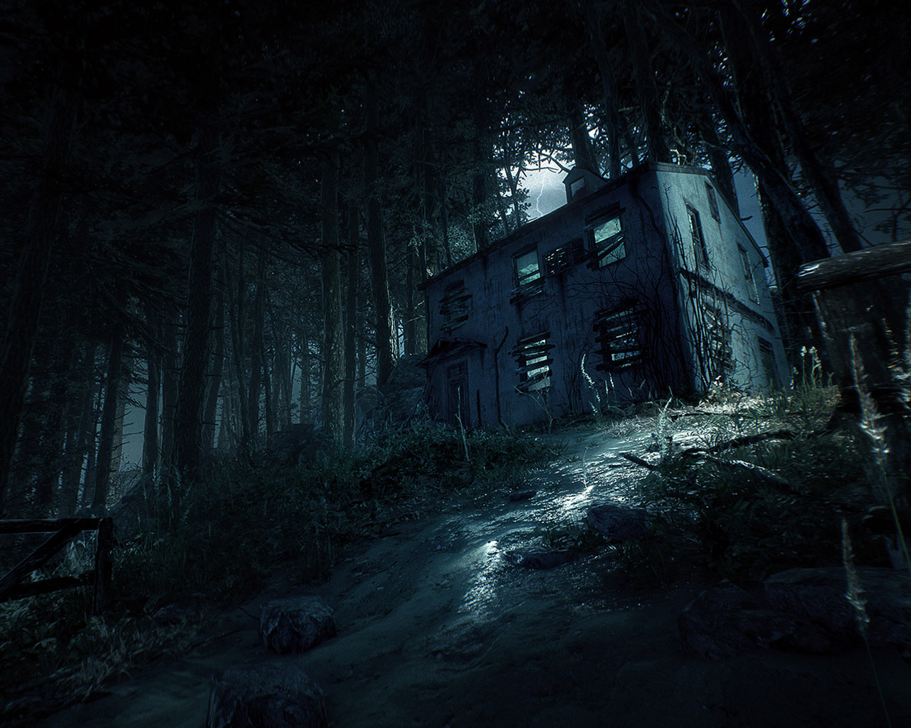 Blair Witch Wallpaper in 1280x1024