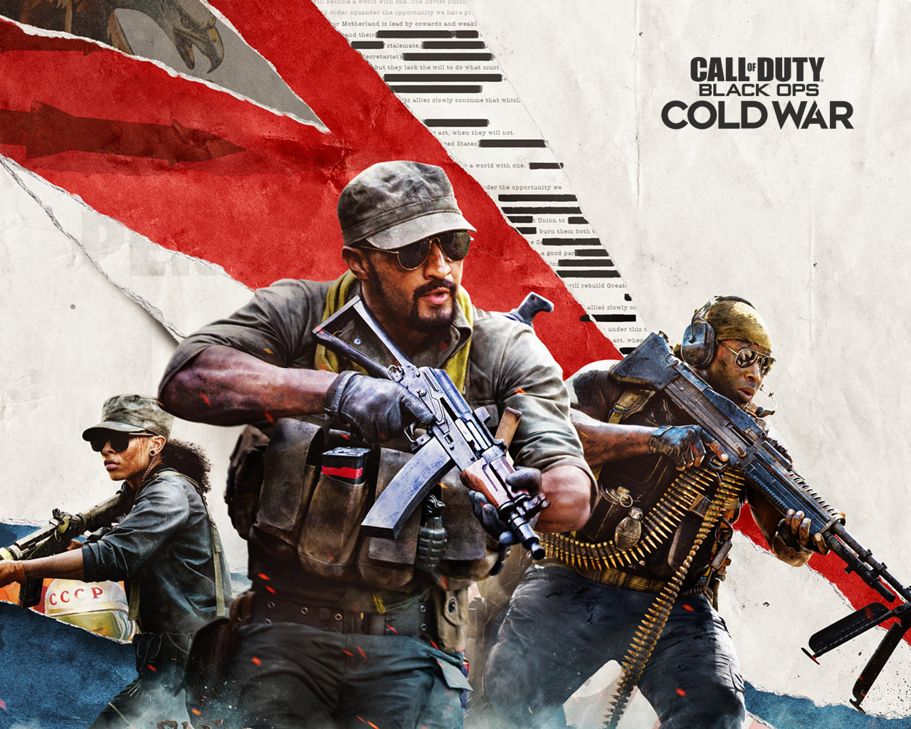 Call of Duty: Black Ops Cold War Wallpaper in 1280x1024