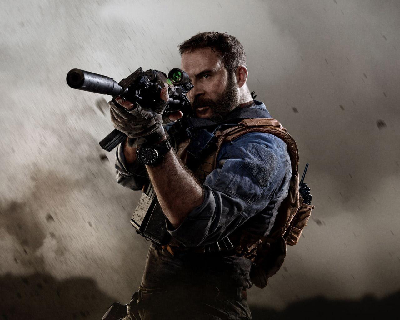 Free Call of Duty: Modern Warfare (2019) Wallpaper in 1280x1024