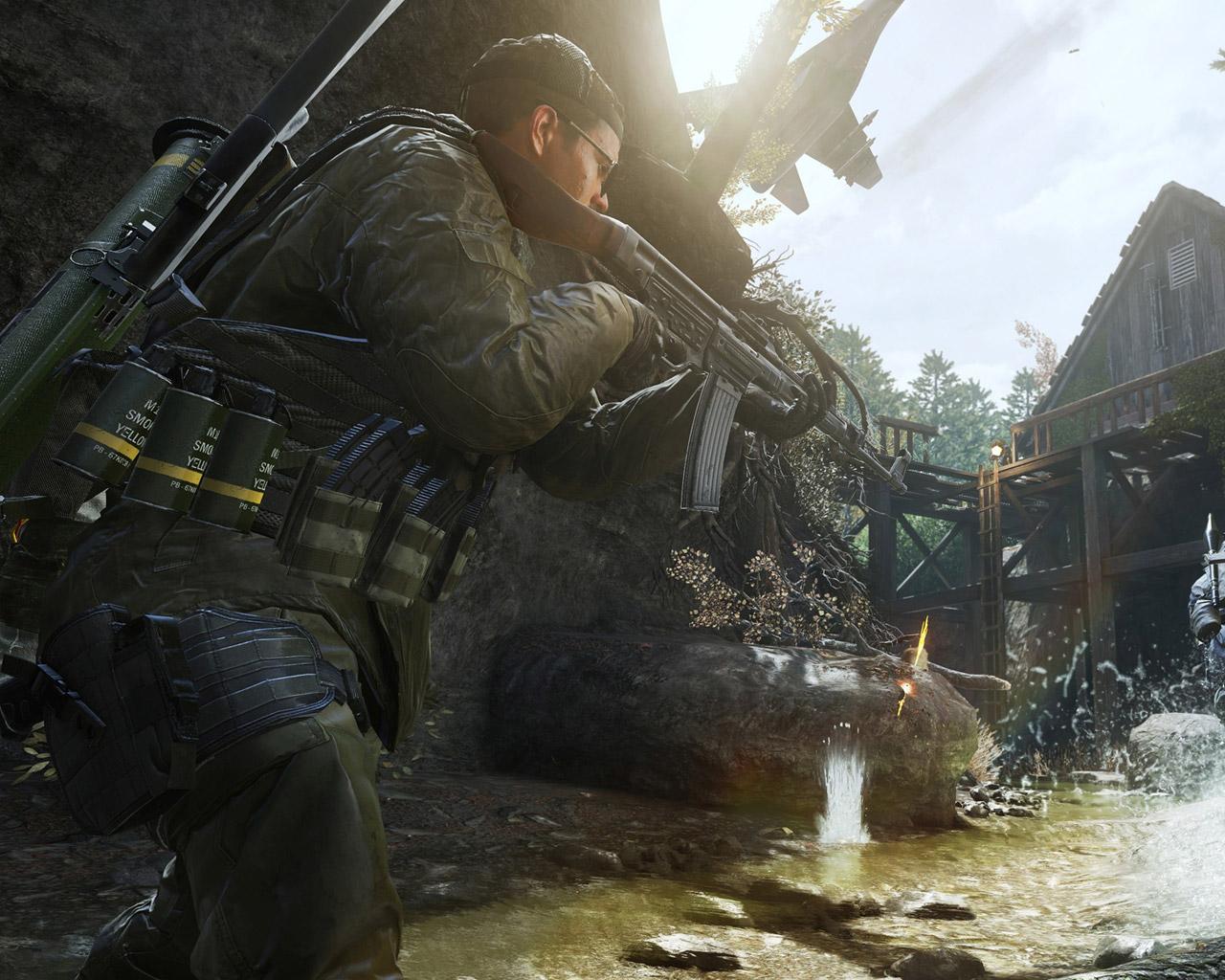 Free Call of Duty: Modern Warfare Wallpaper in 1280x1024