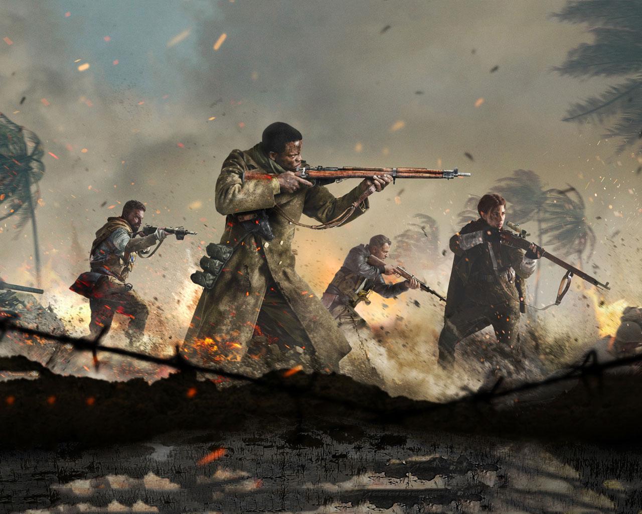 Free Call of Duty: Vanguard Wallpaper in 1280x1024