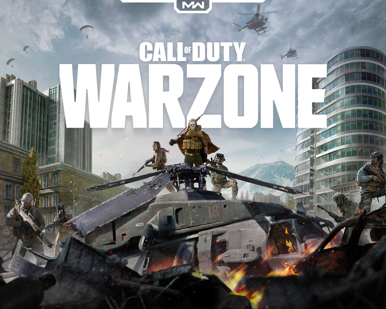Free Call of Duty: Warzone Wallpaper in 1280x1024