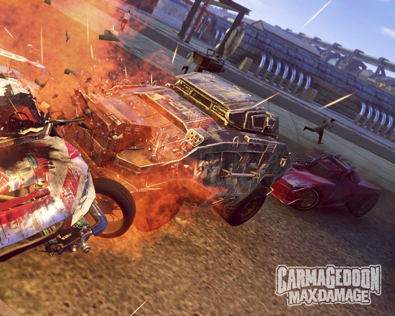 Free Carmageddon: Max Damage Wallpaper in 1280x1024