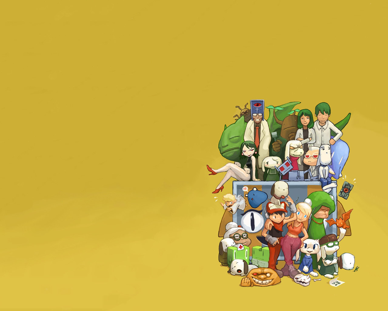 Free Cave Story Wallpaper in 1280x1024
