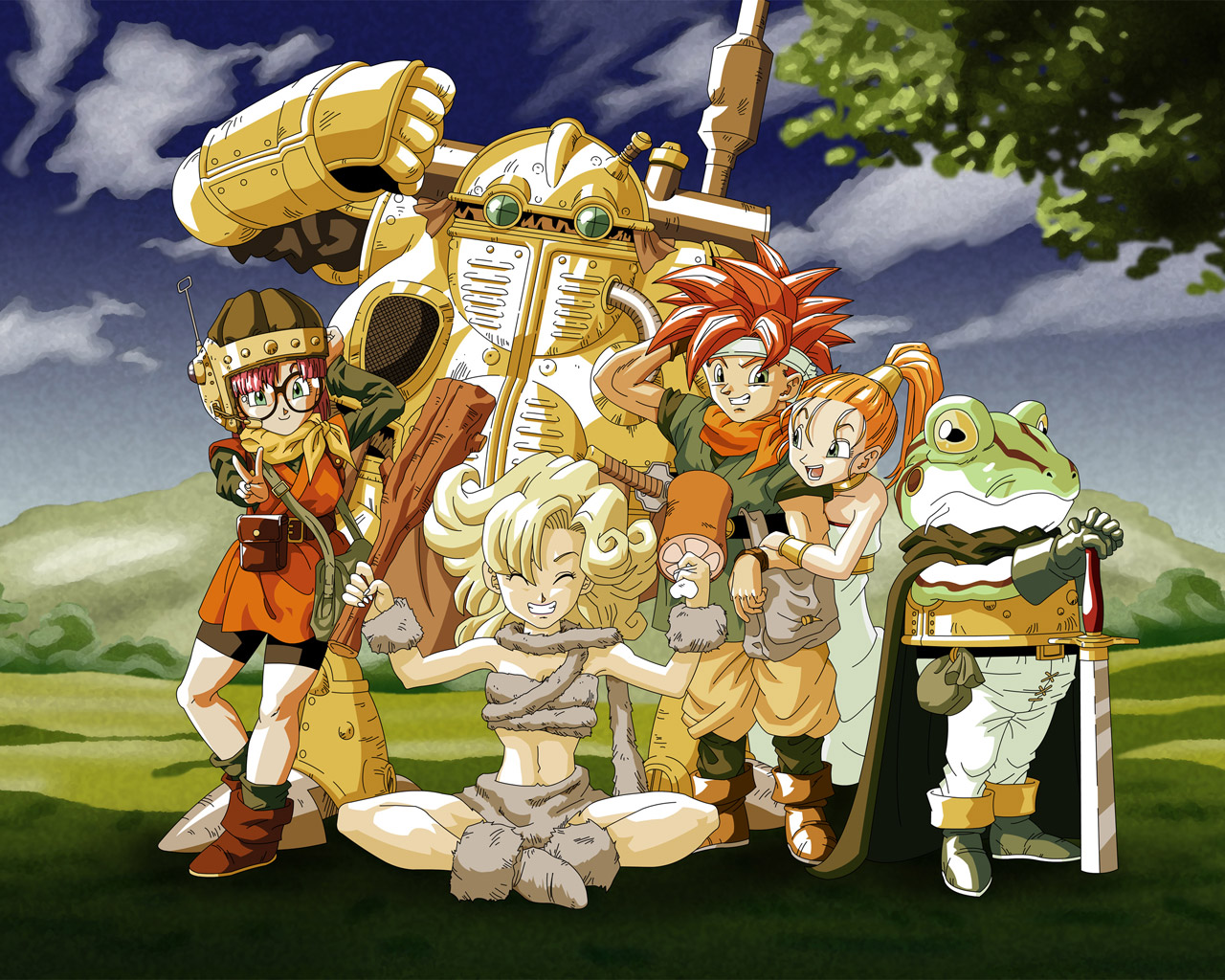 Free Chrono Trigger Wallpaper in 1280x1024