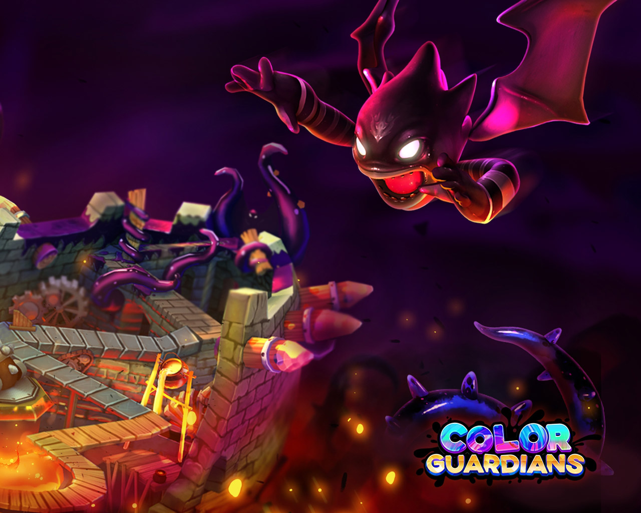 Free Color Guardians Wallpaper in 1280x1024