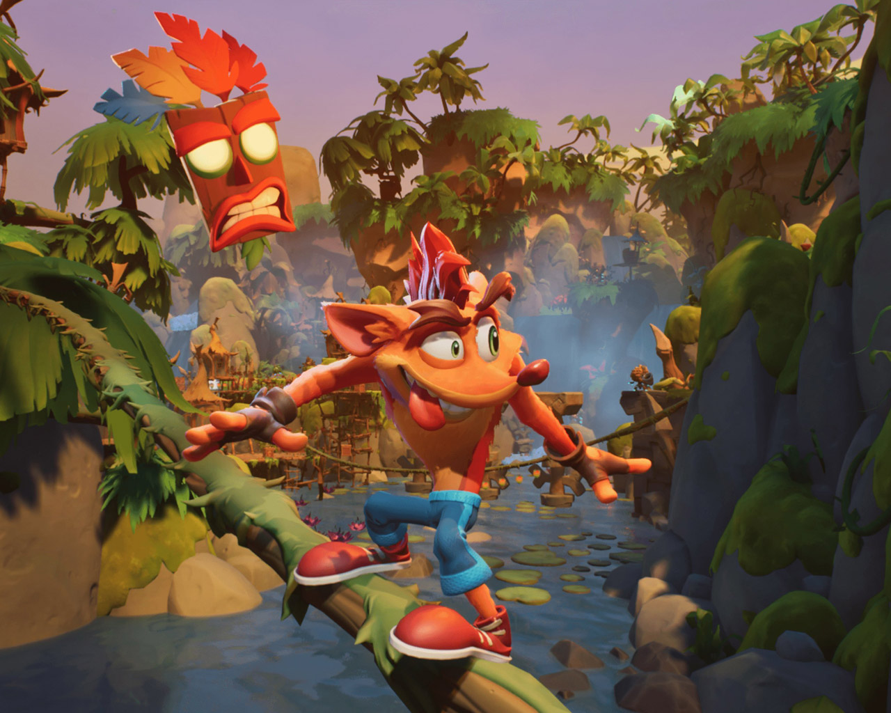 Crash Bandicoot 4: It's About Time Wallpaper in 1280x1024