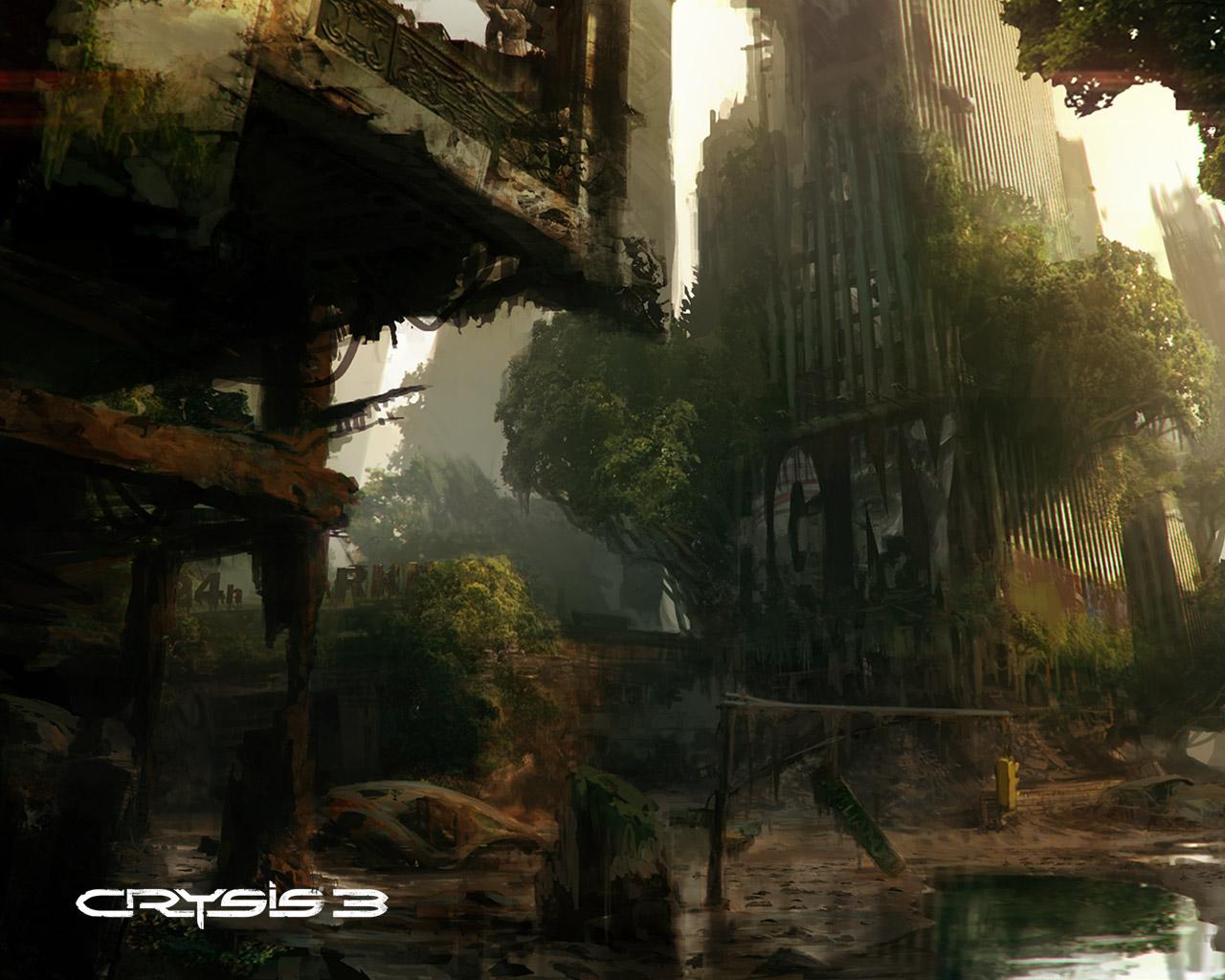 Crysis 3 Wallpaper in 1280x1024