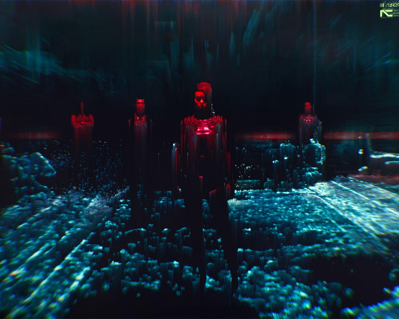 Free Cyberpunk 2077 Wallpaper in 1280x1024