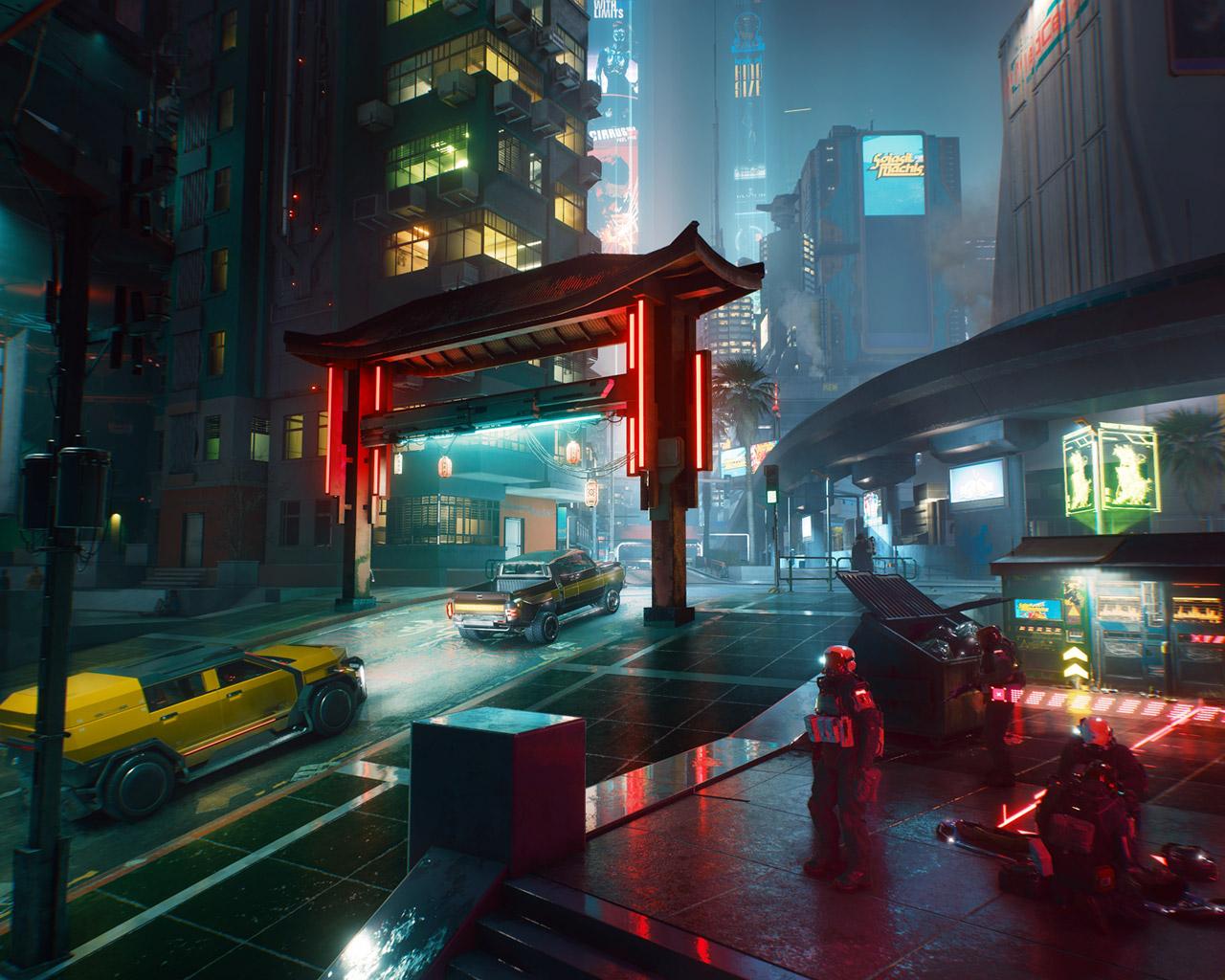 Cyberpunk 2077 Wallpaper in 1280x1024