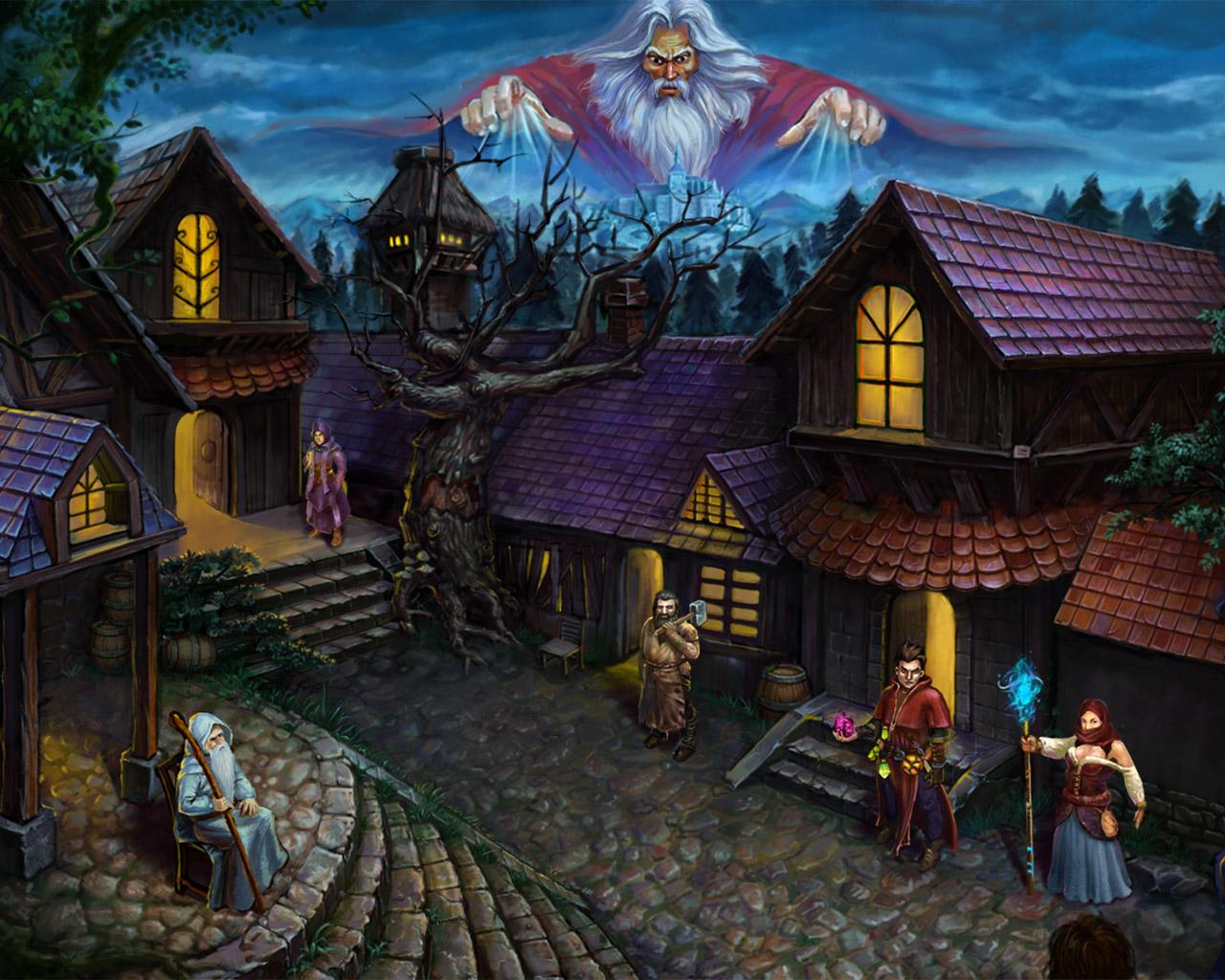 Dark Quest Wallpaper in 1280x1024