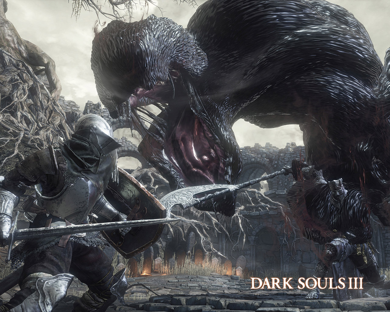 Free Dark Souls III Wallpaper in 1280x1024