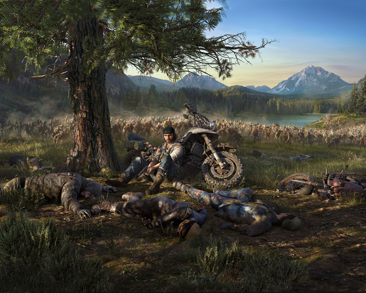 Free Days Gone Wallpaper in 1280x1024