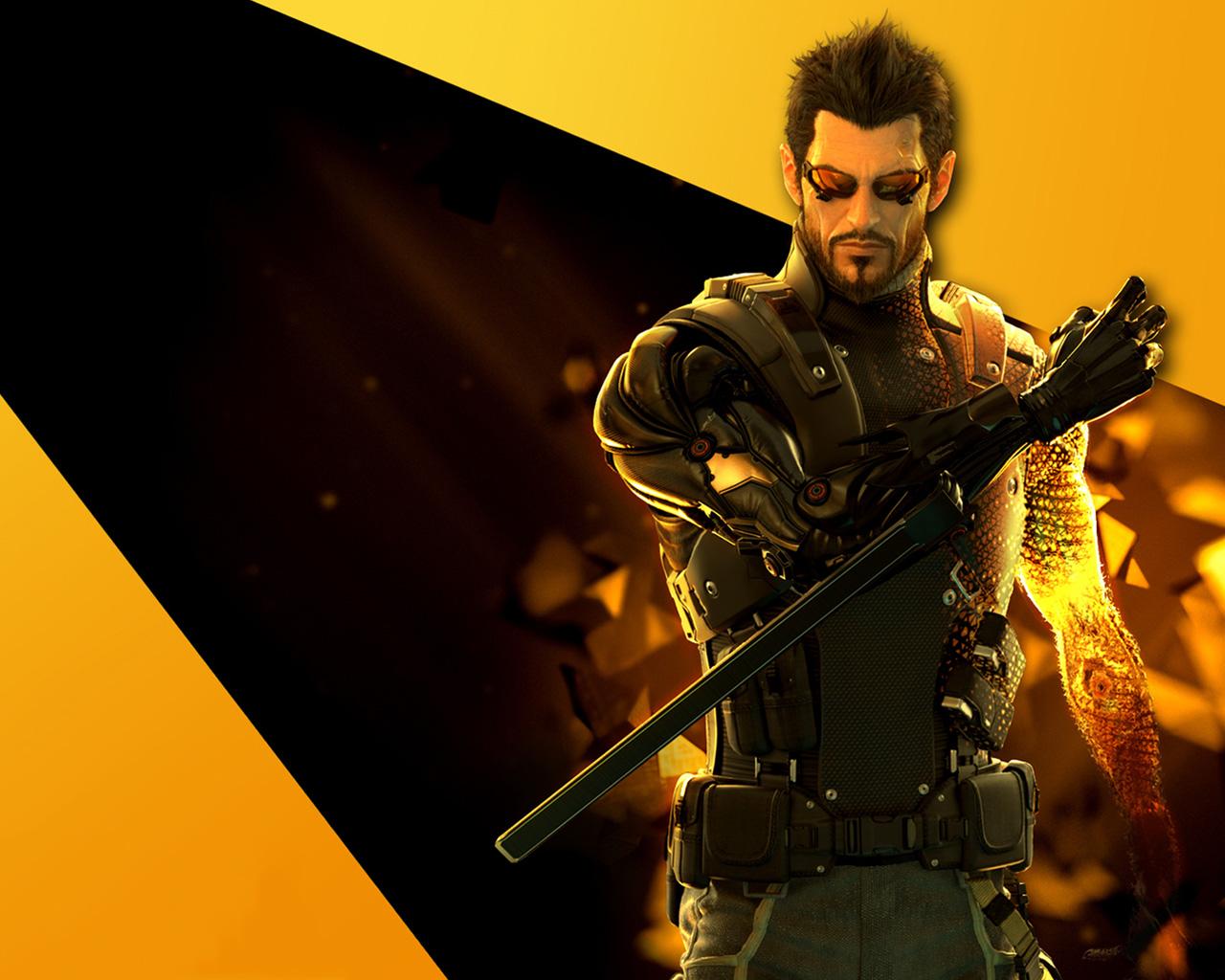 Deus Ex: Human Revolution Wallpaper in 1280x1024