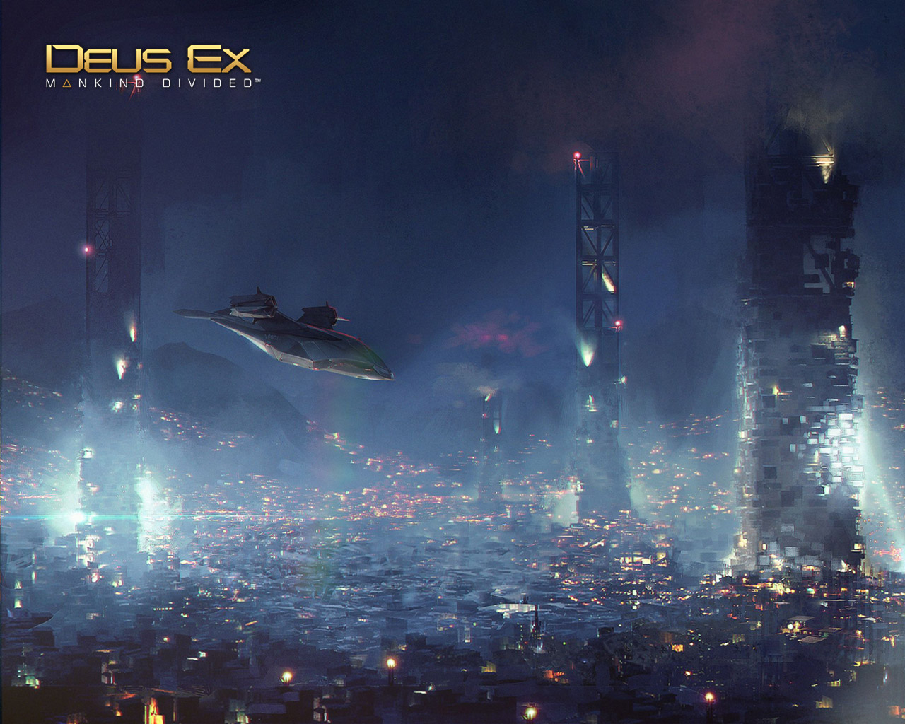 Free Deus Ex: Mankind Divided Wallpaper in 1280x1024