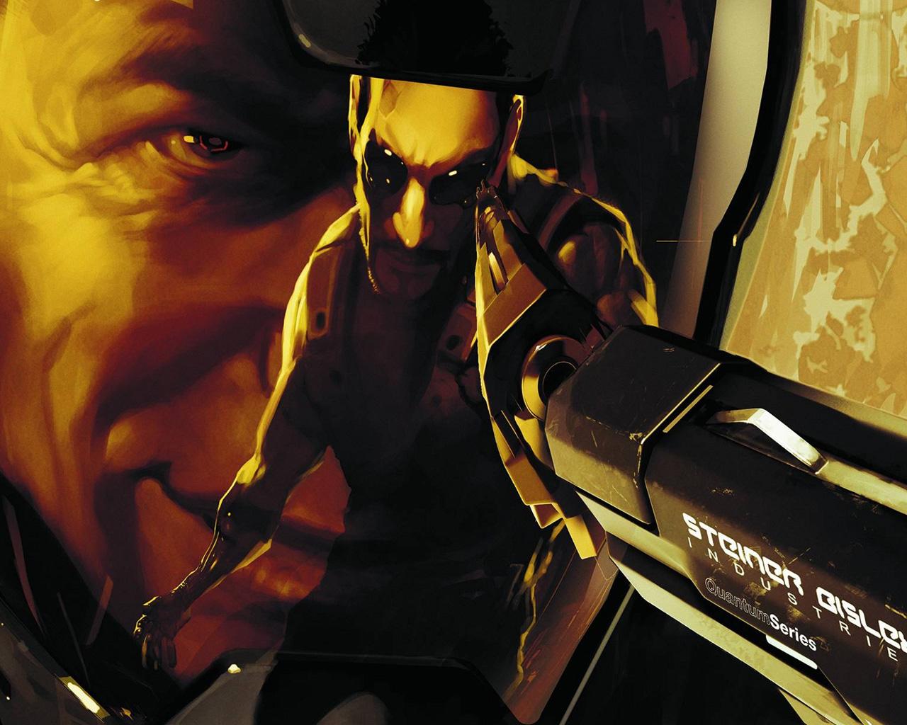 Free Deus Ex: Human Revolution Wallpaper in 1280x1024