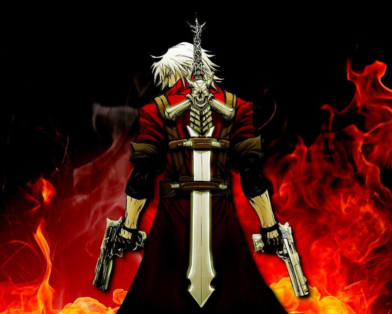 Devil May Cry 4 Wallpaper in 1280x1024